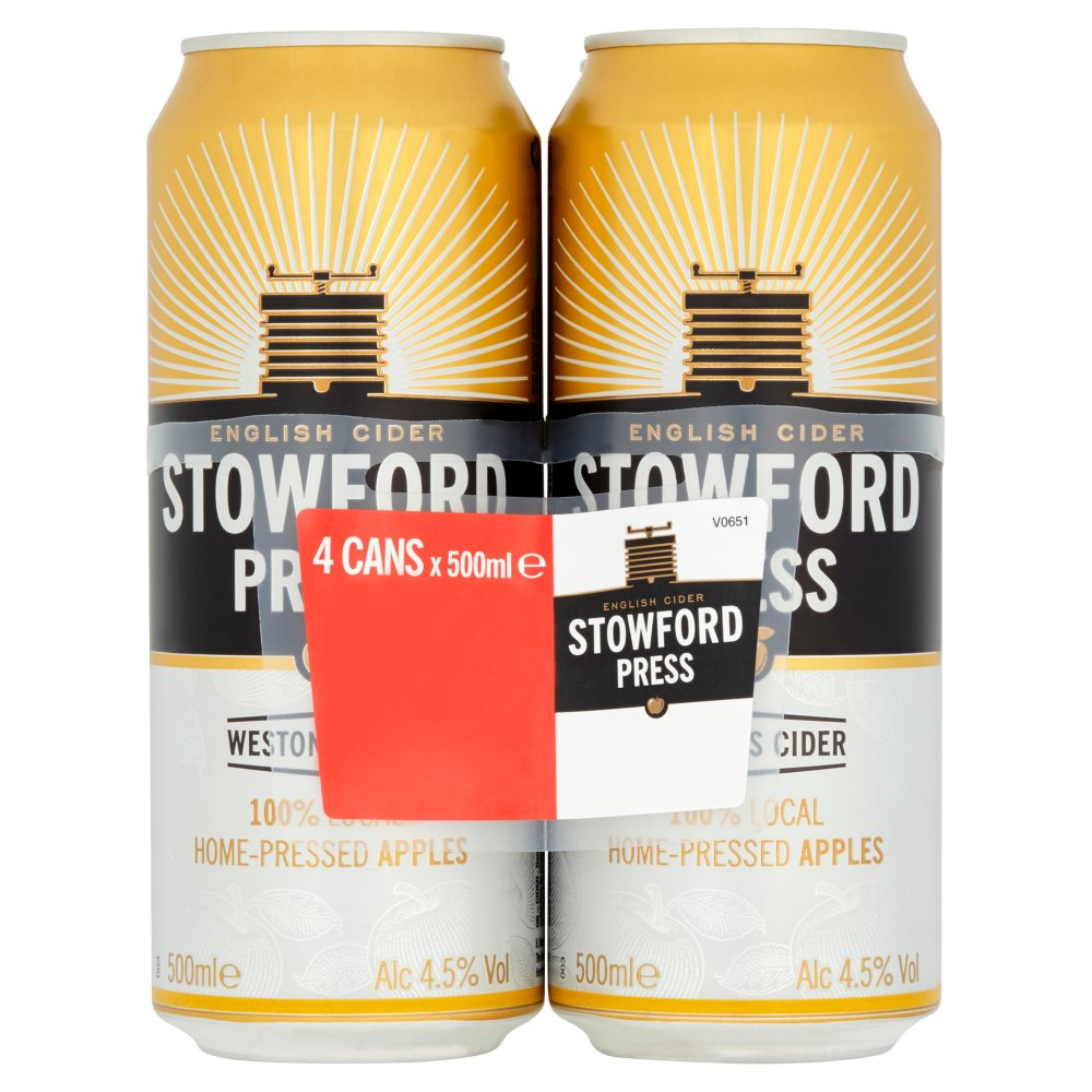 Stowford Press Can 4pack PM £4.49