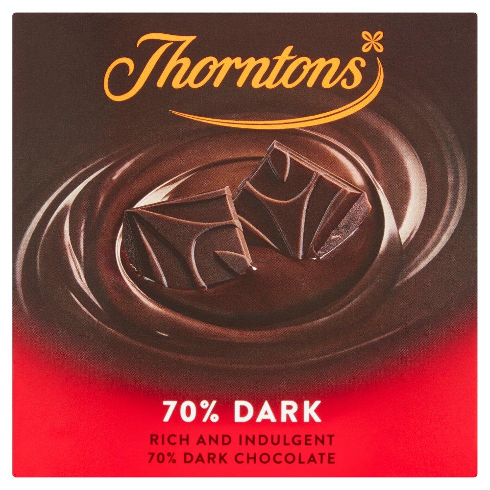 Thorntons 70 Dark Chocolate Block 90g Best One
