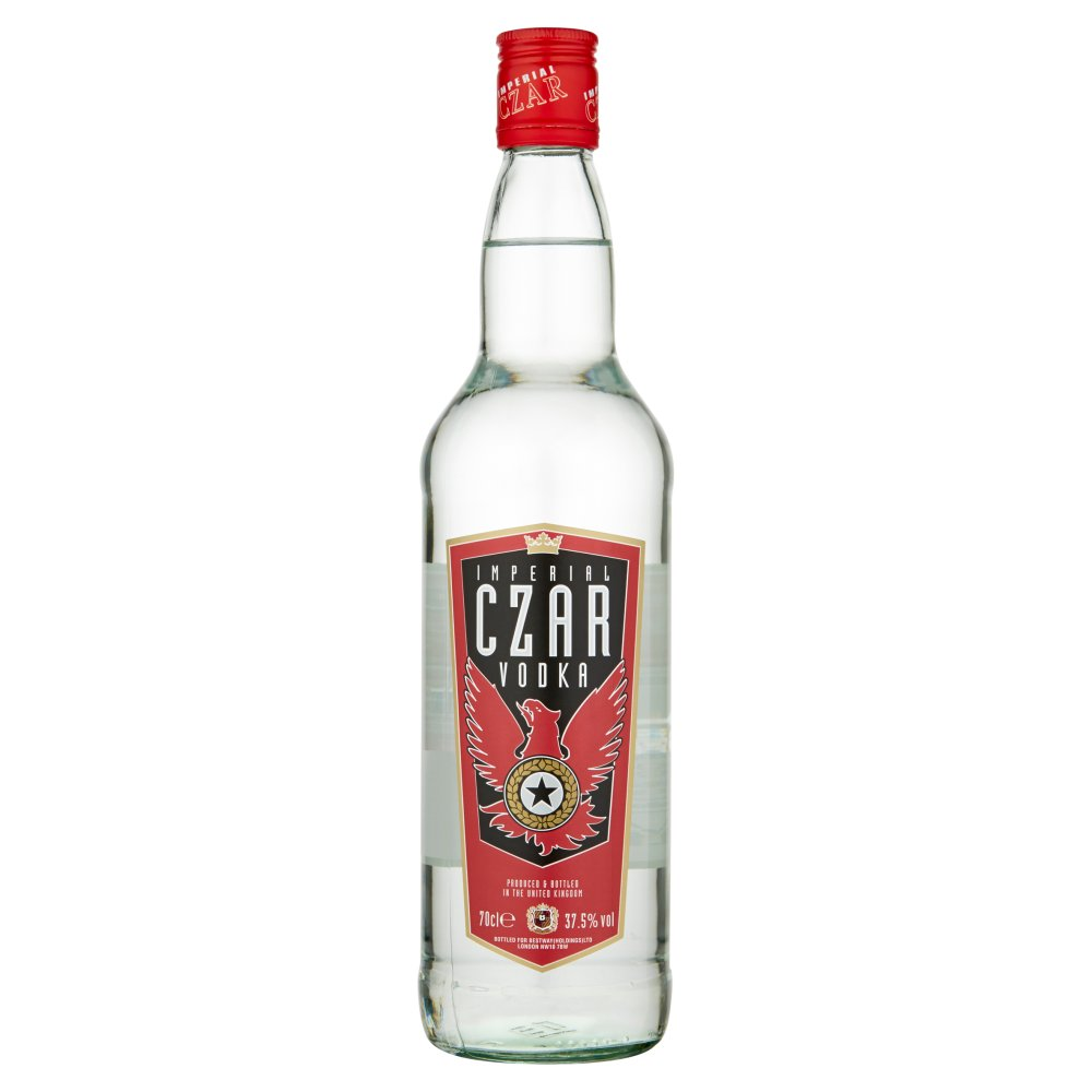Imperial Czar Vodka 70cl
