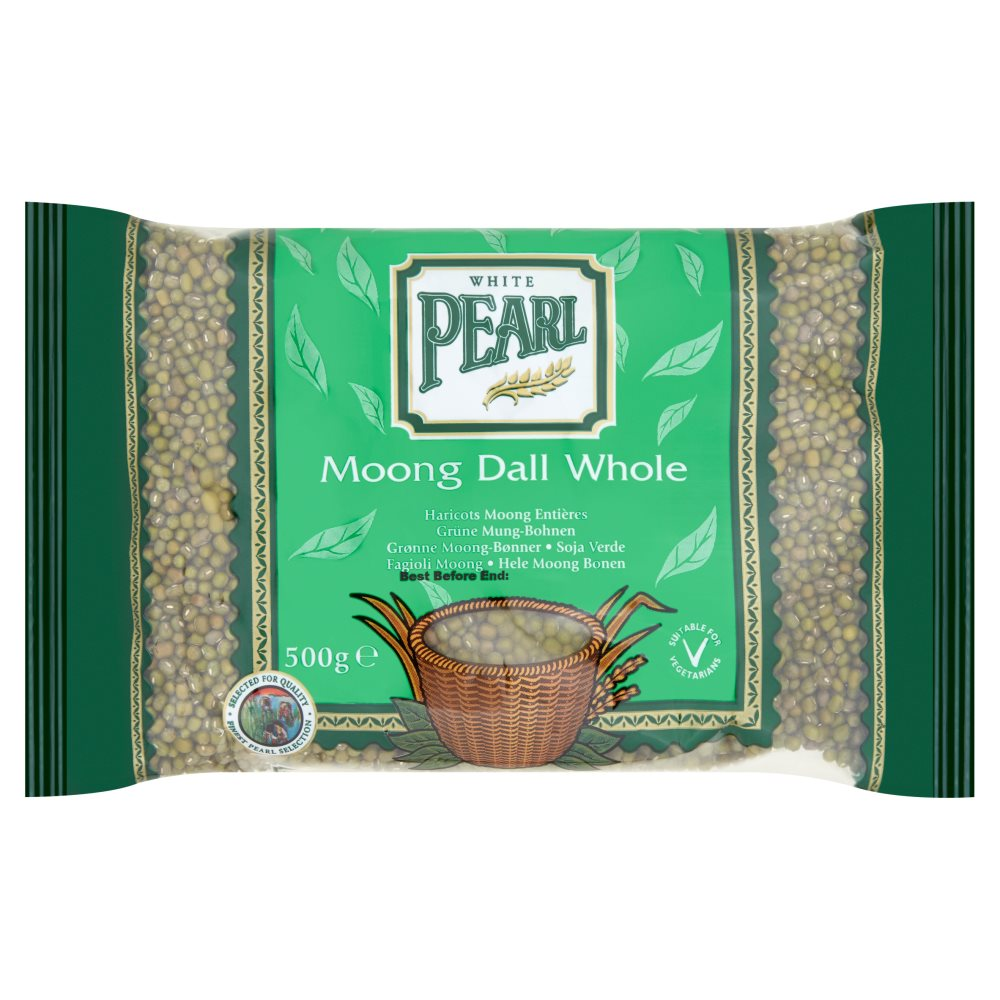 White Pearl Moong Whole