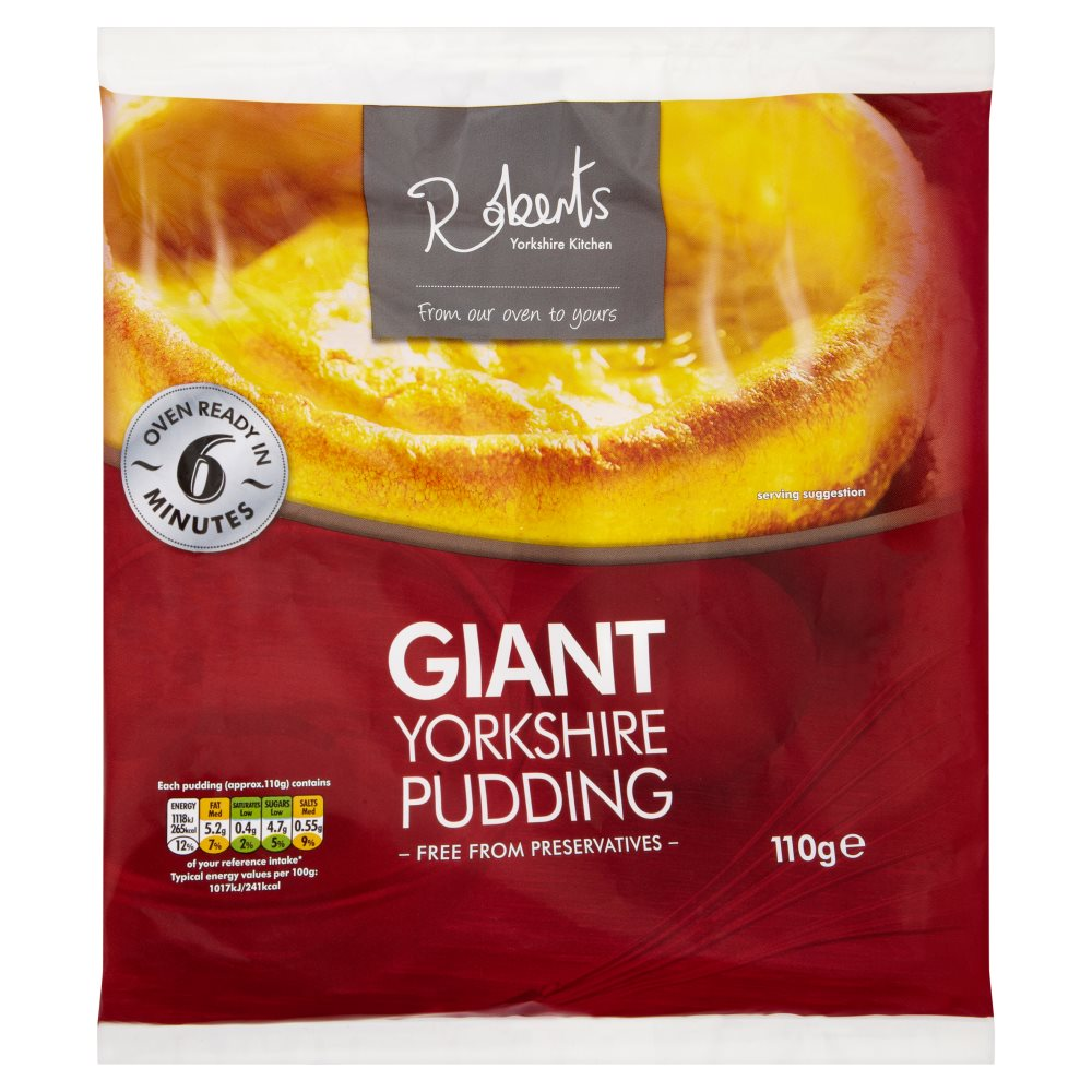 Roberts Giant York Puddings