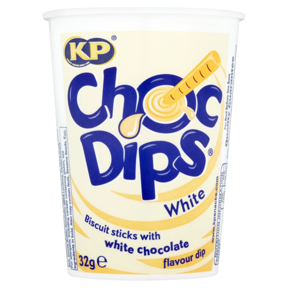 KP White Chocolate Dip Pots