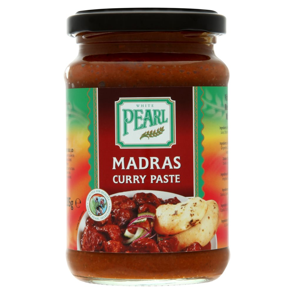 White Pearl Madras Curry Paste 285g