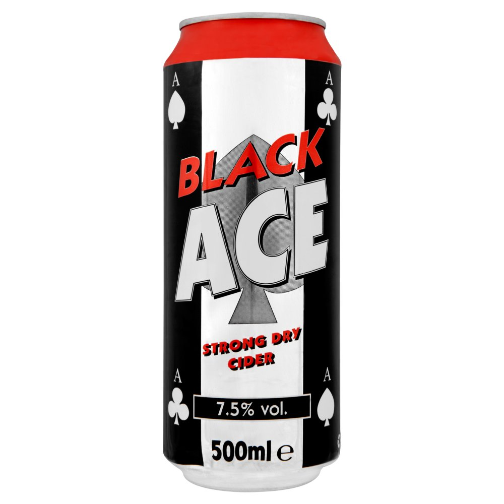 Black Ace Cider Can 99p
