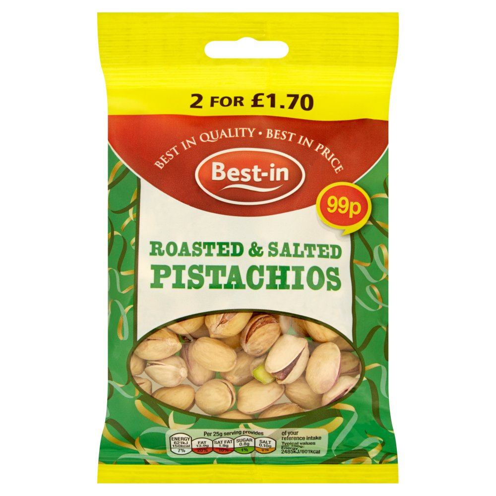 Bestin Roasted Salted Pistachio PM 99p