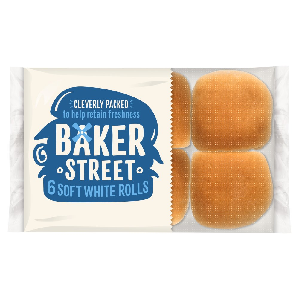 Baker Street Soft White Roll