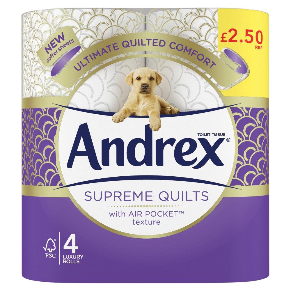 Andrex Supreme Quilts 160sc 4Rx6 £2.50 PMP