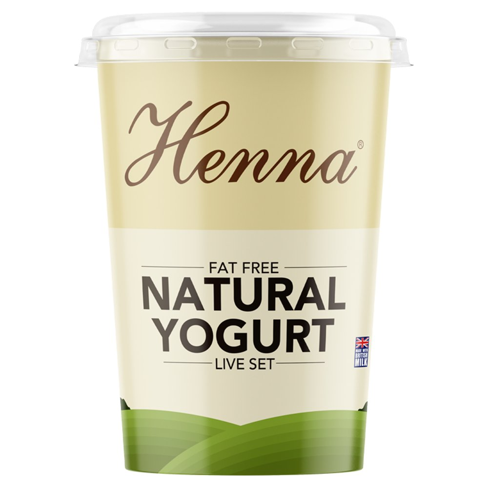 Henna Very Low Fat Yoghurt