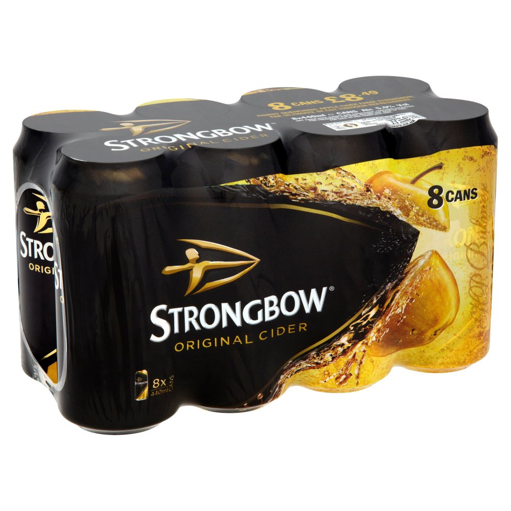 Strongbow 8 For £8.49