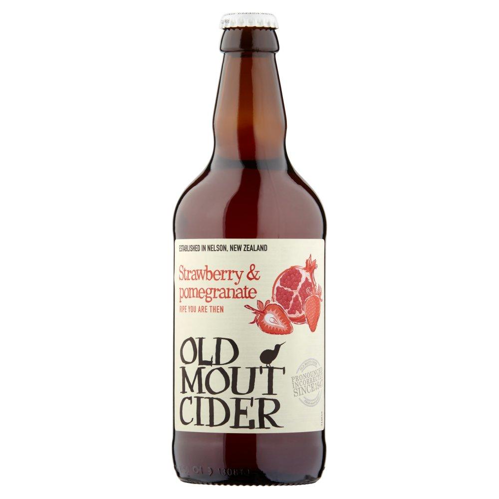 Old Mout Cider Strawberry & Pomegranate 500ml Bottle