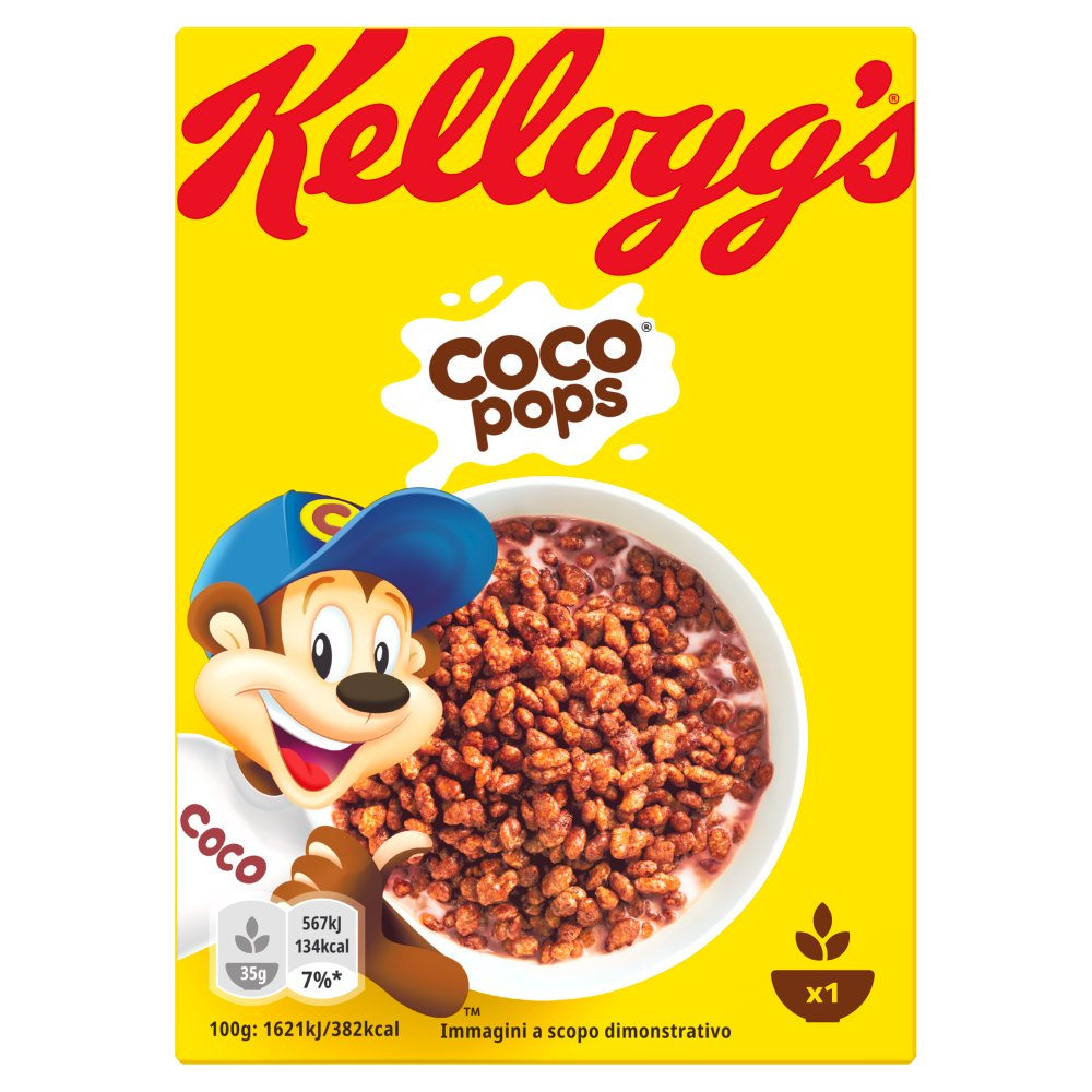Kelloggs Coco Pops Portion Pack