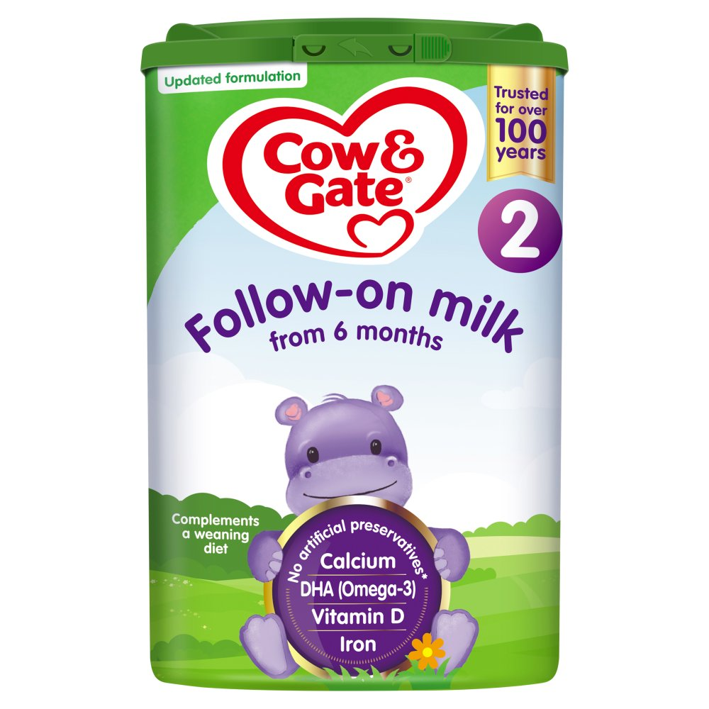 Cow & Gate 2 Follow On Baby Milk Formula 800g