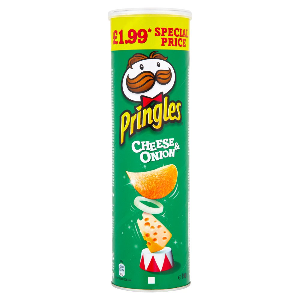 Pringles Cheese & Onion £1.99
