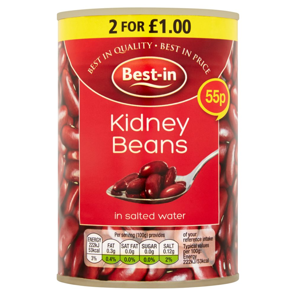 Besin Red Kidney Beans PM 55p