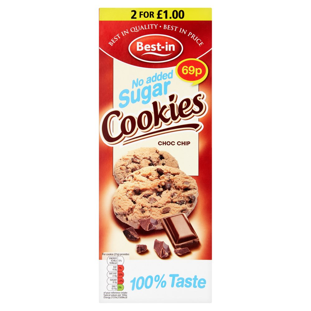 Bestin Sf Chocolate Chip Cookie PM 69p
