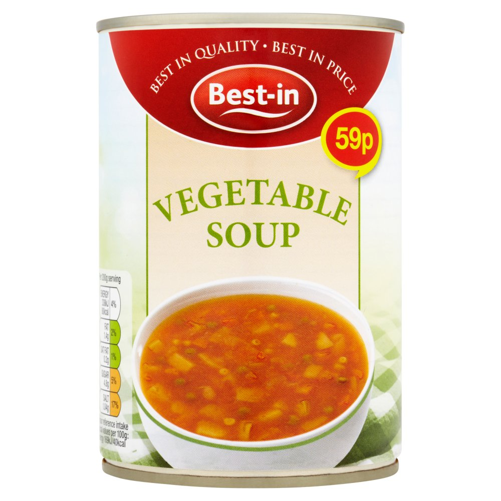Bestin Soup Vegetable 59p