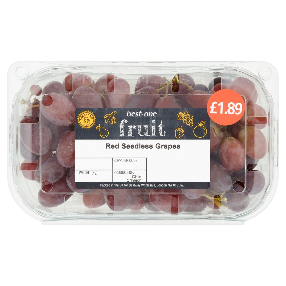 B/One Grapes Red £1.89 500g
