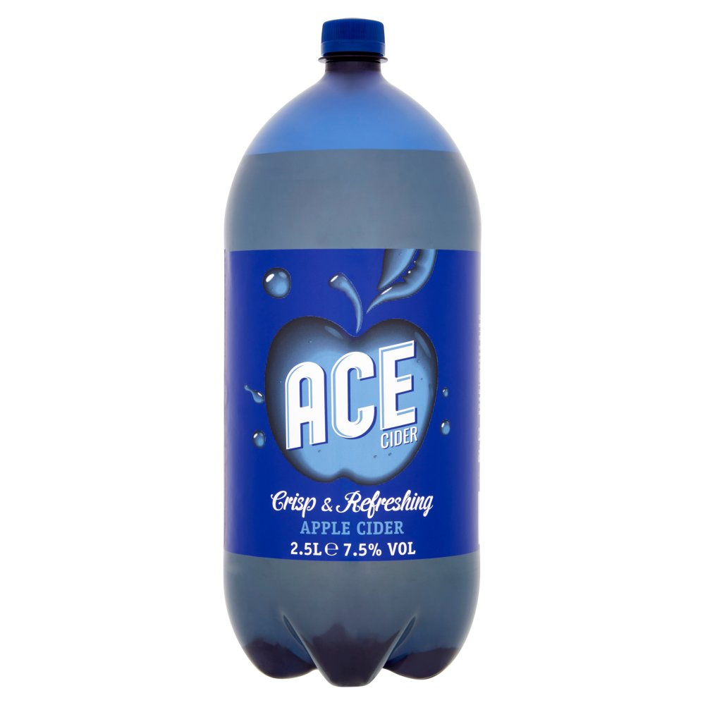 Ace Cider Crisp & Refreshing Apple Cider 2.5 Litres