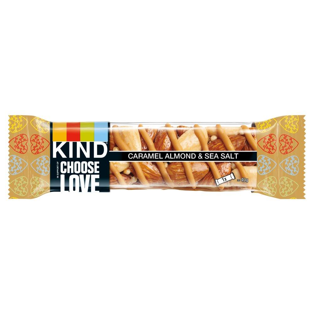 KIND Caramel Almond & Sea Salt Snack Bar 40g