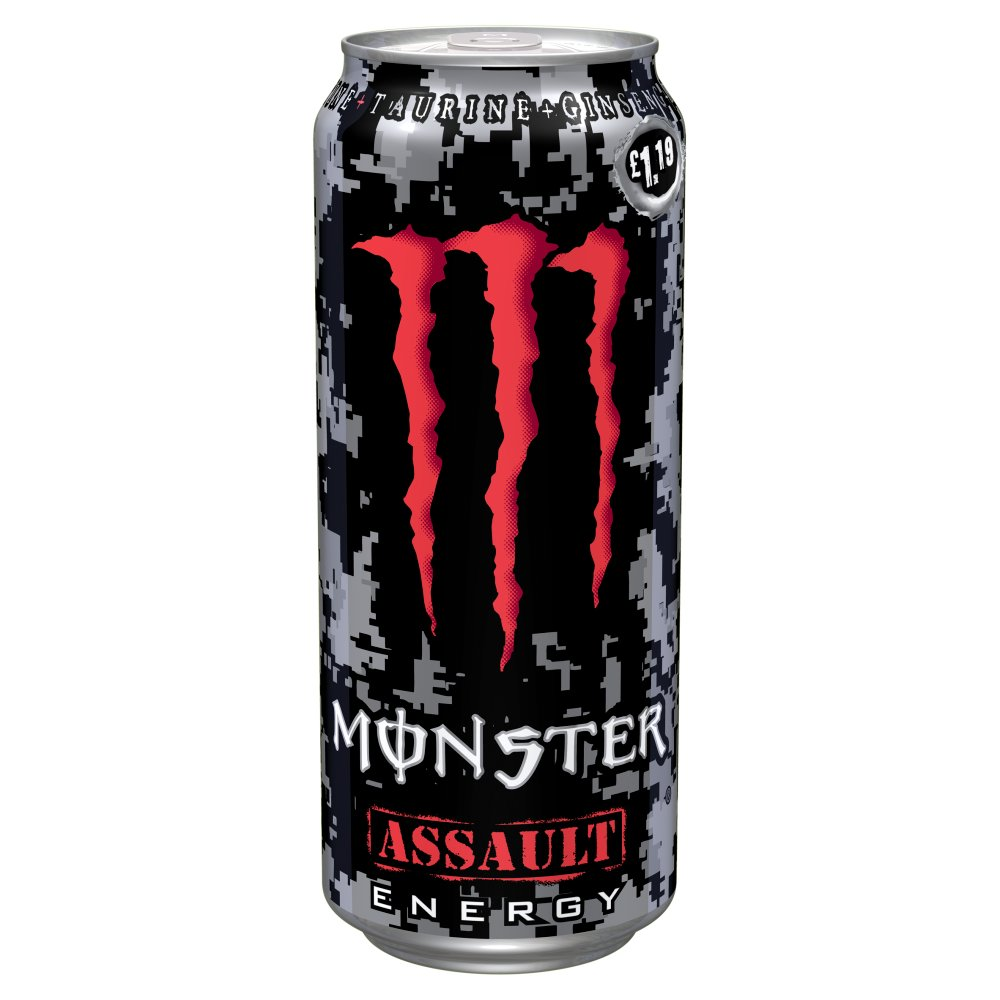 Monster Assault 500ml PMP £1.19