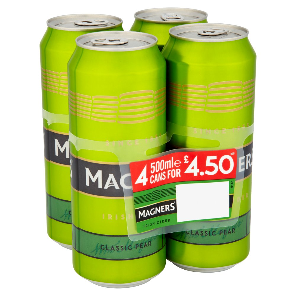 Magners Pear 4 For £4.50