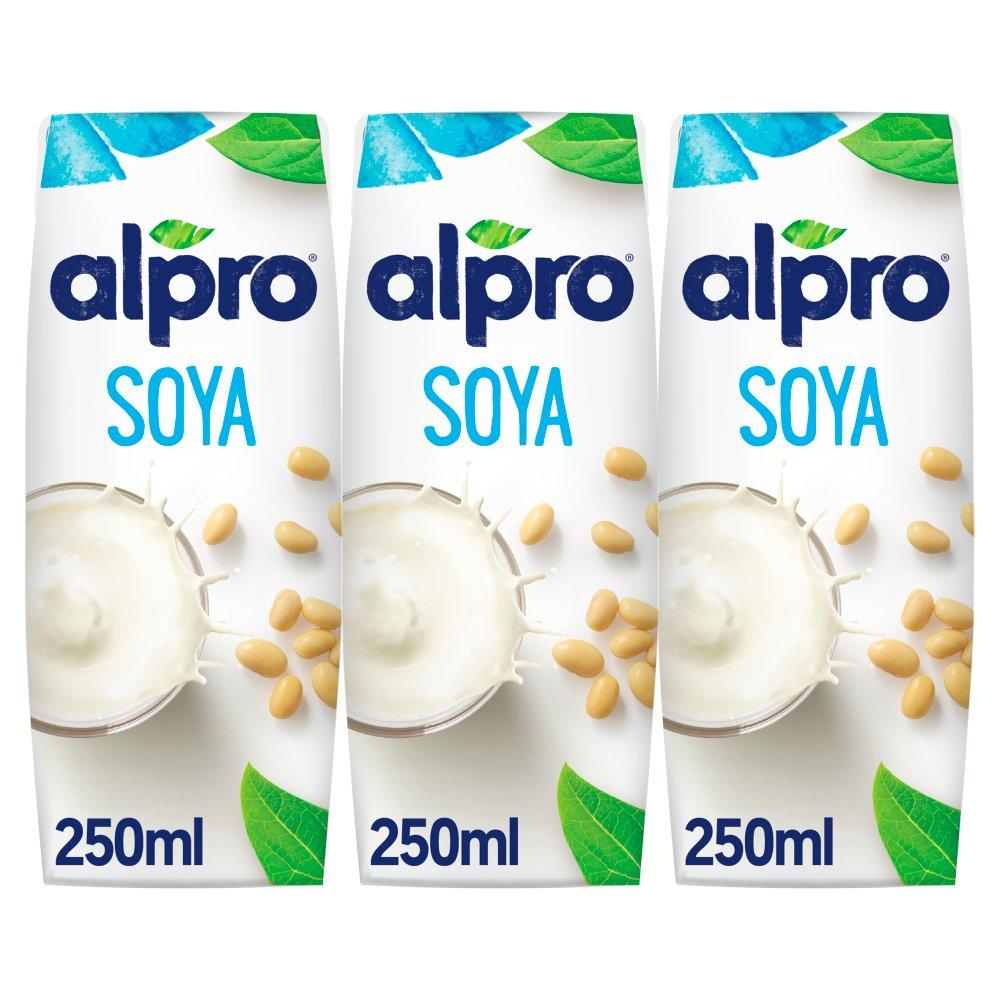 Alpro Soya Original Uht 250ml Bestway Wholesale