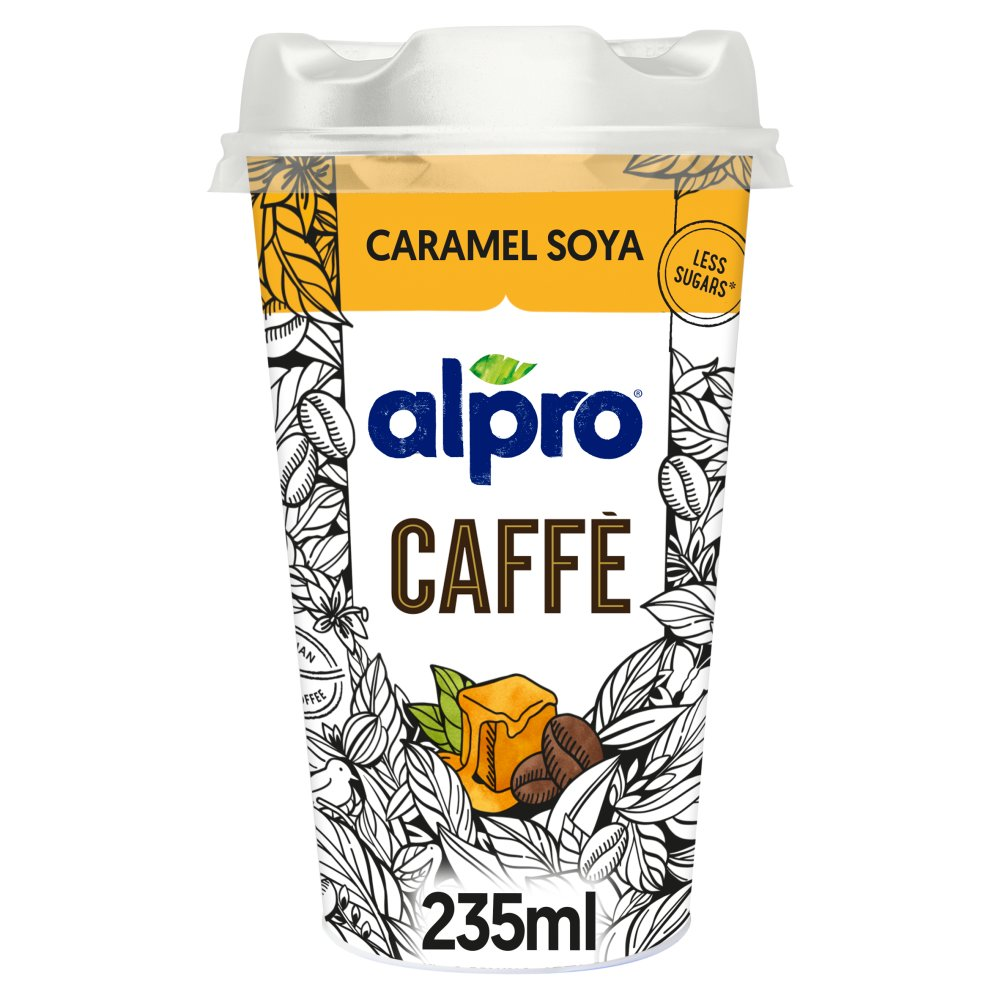 Alpro Caffè Ethiopian Coffee & Soya Caramel Blend 235ml