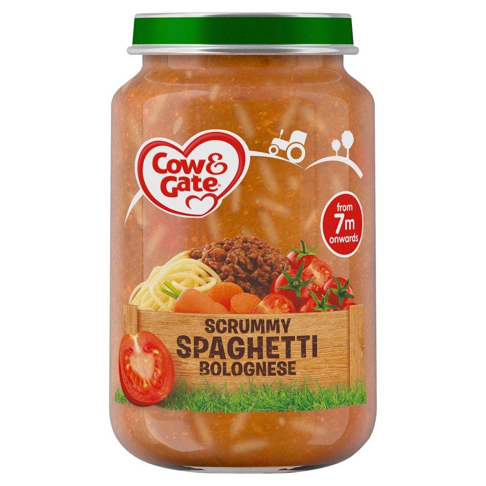 Cow & Gate Scrummy Spaghetti Bolognese Jar 200g