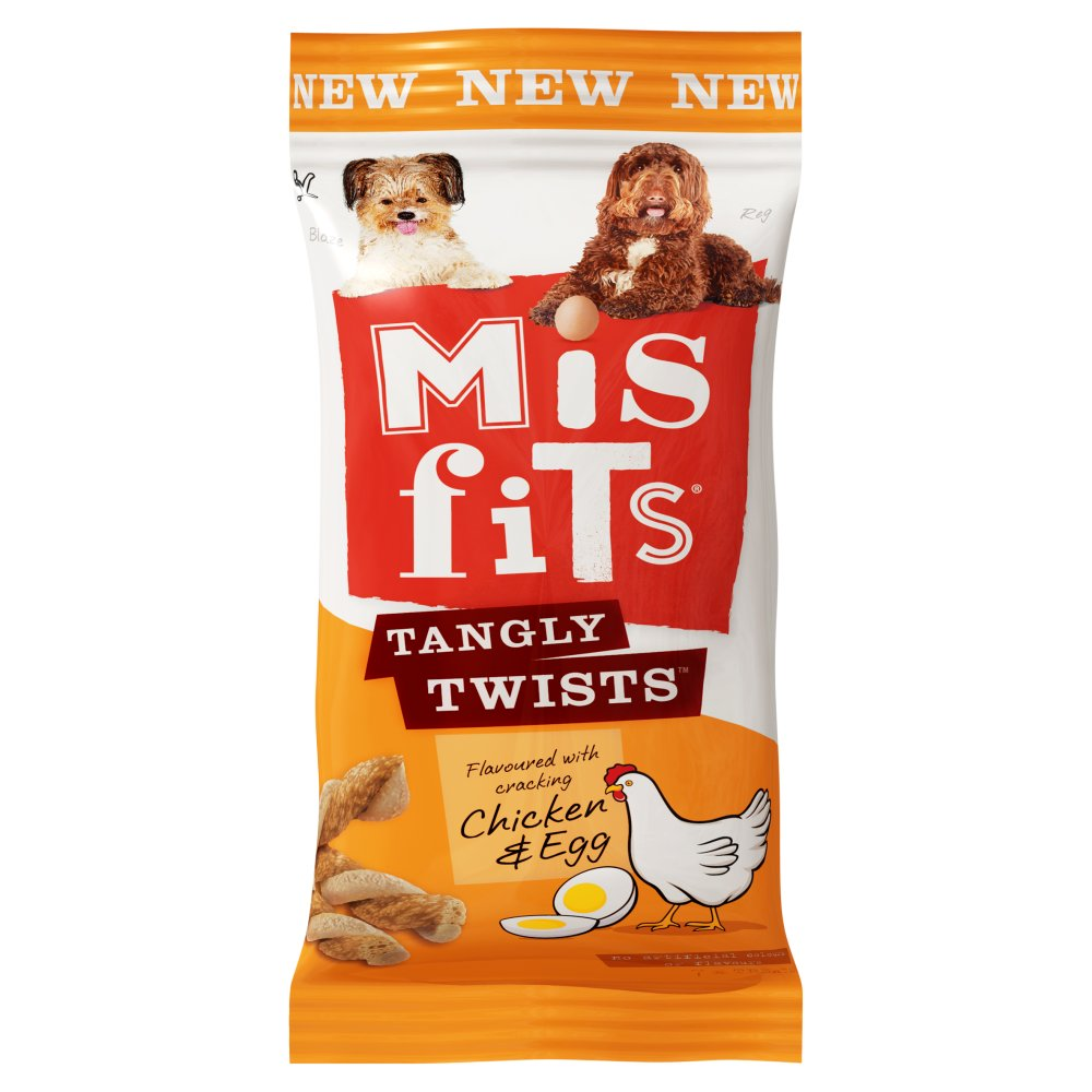 Misfits Tangly Twists Chicken & Egg