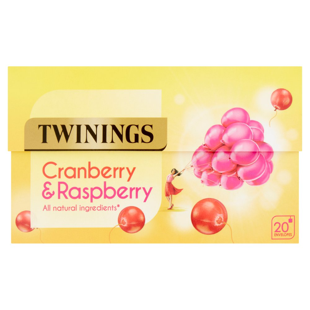 Twining Cranberry/Raspberry & Elderflower