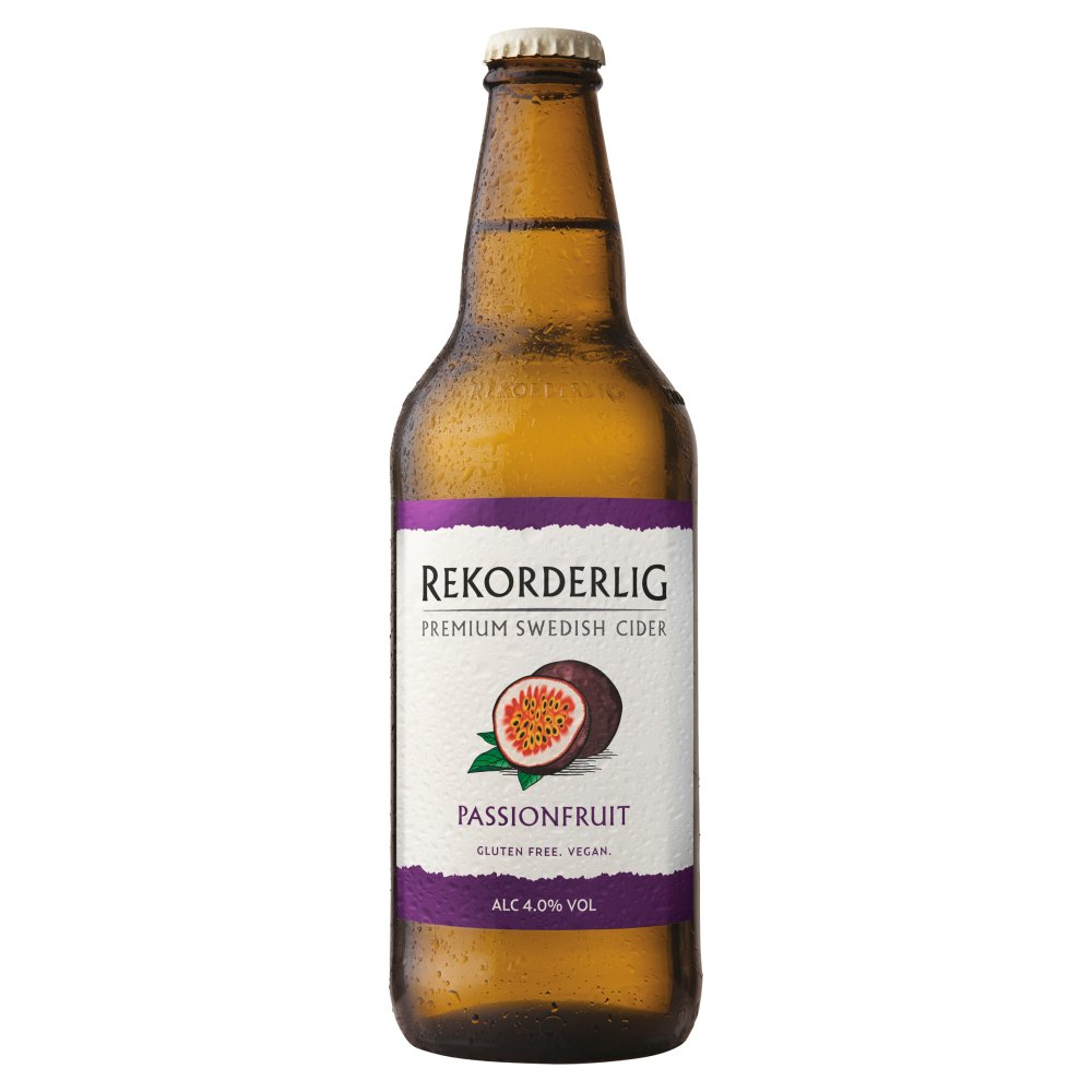 Rekorderlig Premium Swedish Passion Fruit Cider 500ml