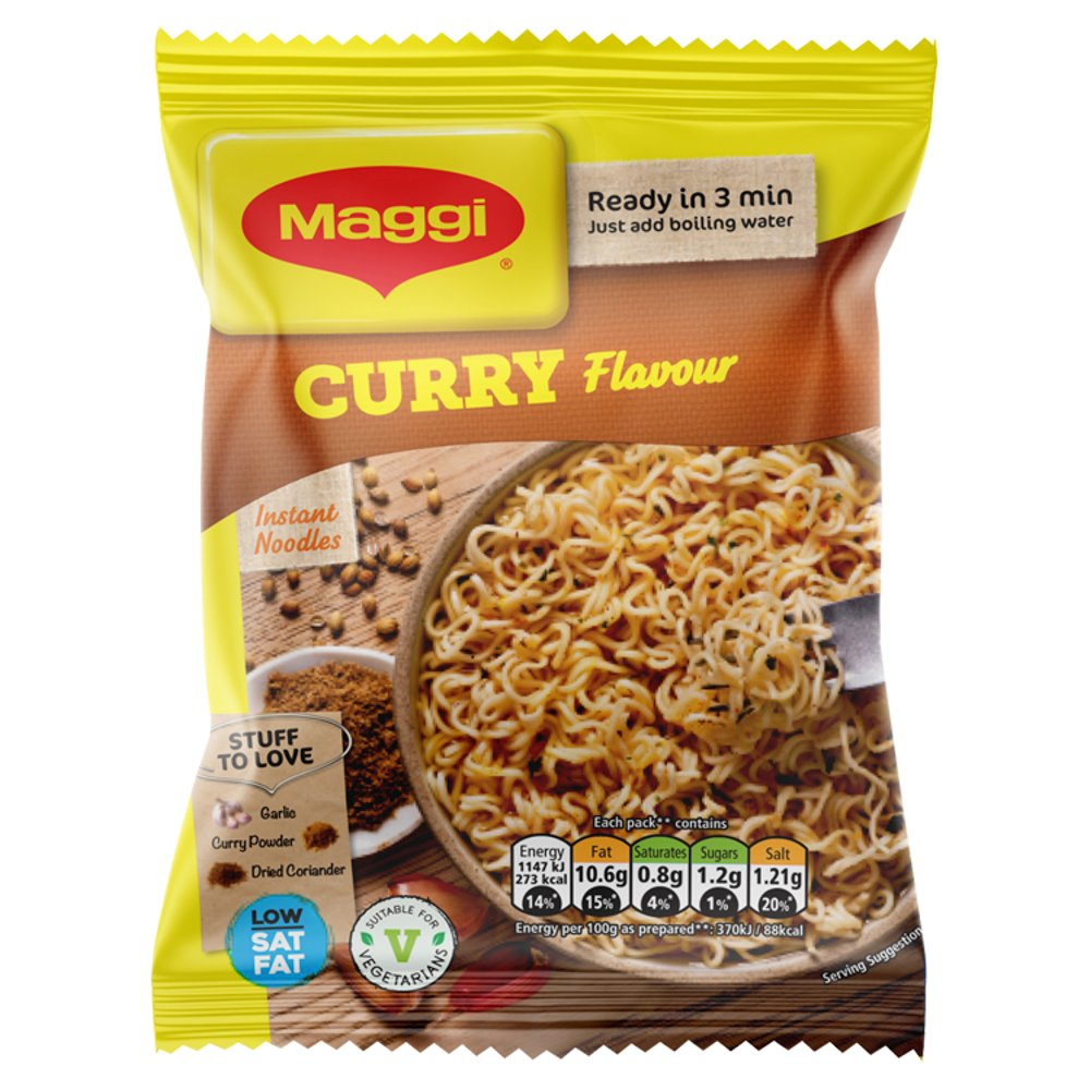 Maggi 3 Min Noodles Curry