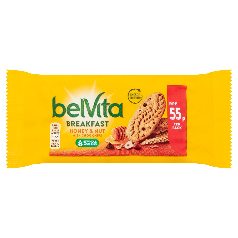 Belvita Honey Nut PM 55p