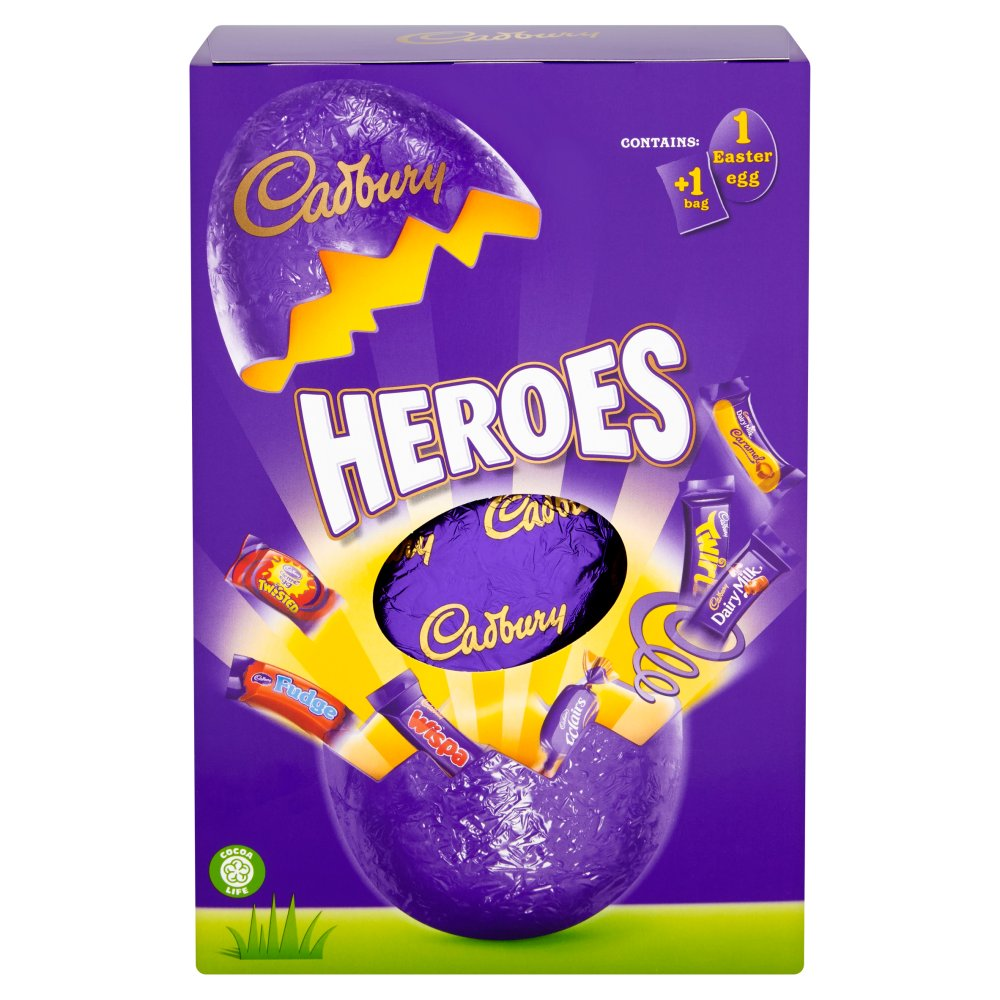 Cadbury Heroes Egg Large