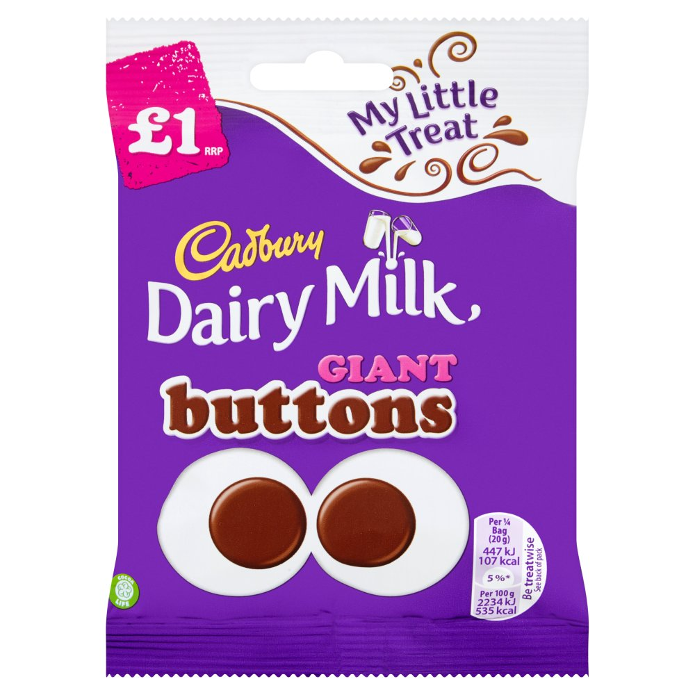 Cadbury Giant Buttons £1