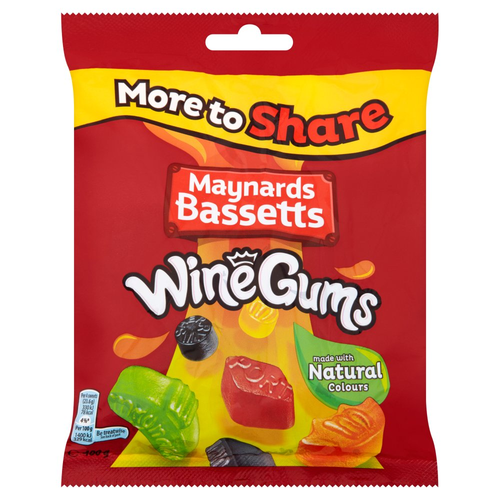 Maynard Bassetts Wine Gums