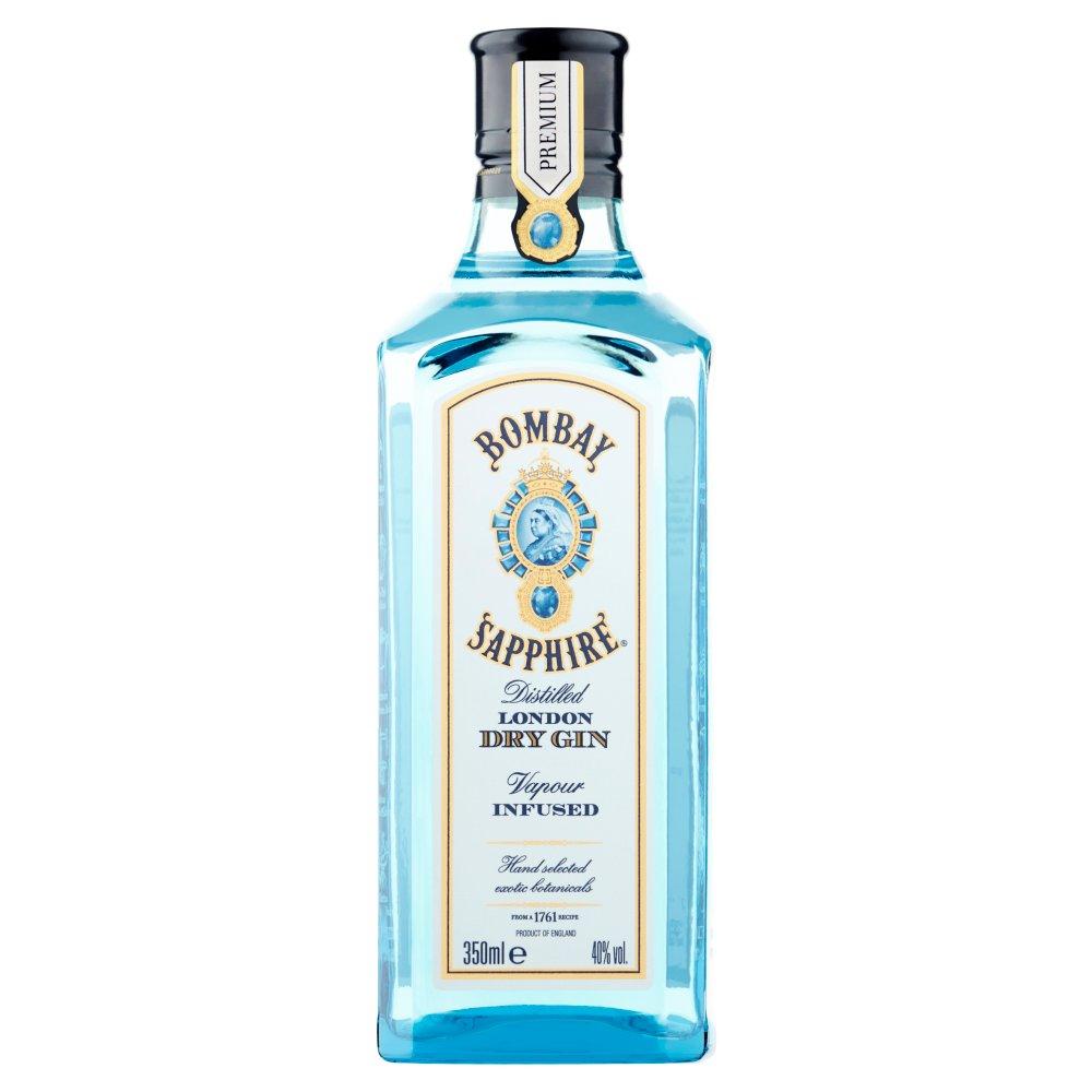 Bombay Sapphire Distilled London Dry Gin 350ml