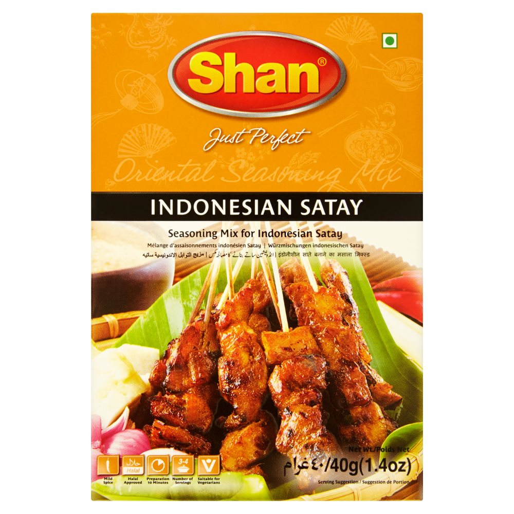 Shan Indonesian Satay Oriental Seasoning Mix 40g