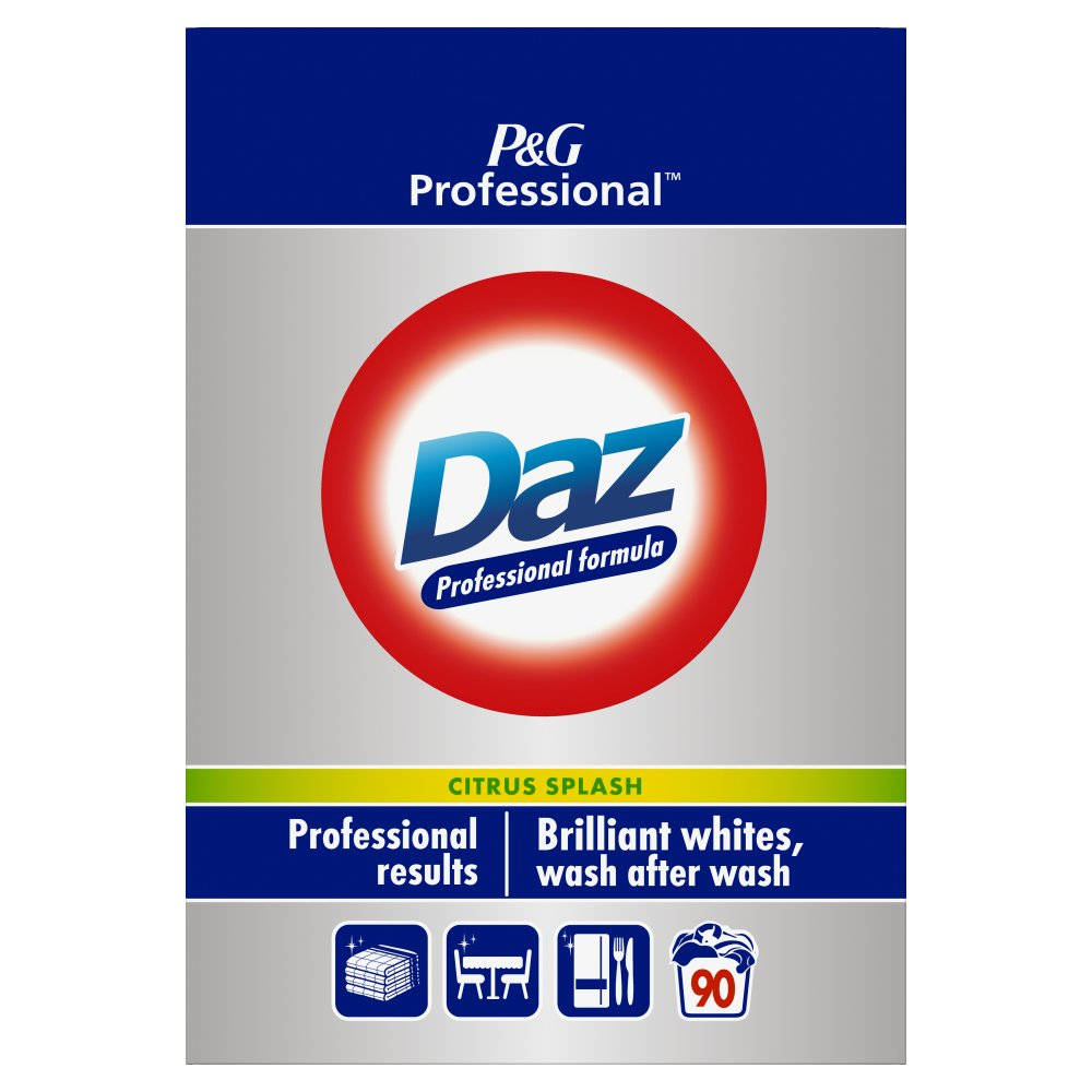 Daz Professional Powder Detergent Citrus Plash 6kg 90 Washes