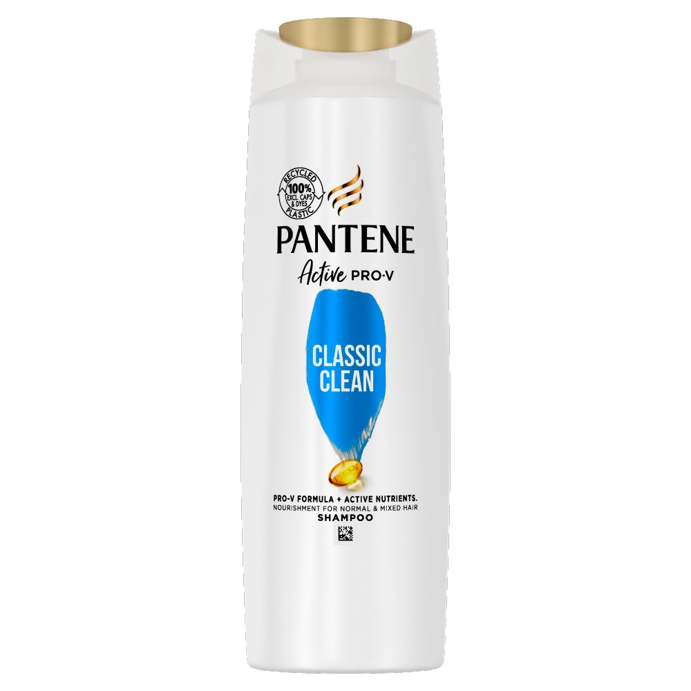Pantene Pro-V Classic Clean Shampoo, For Normal To Mixed Hair, 270ml