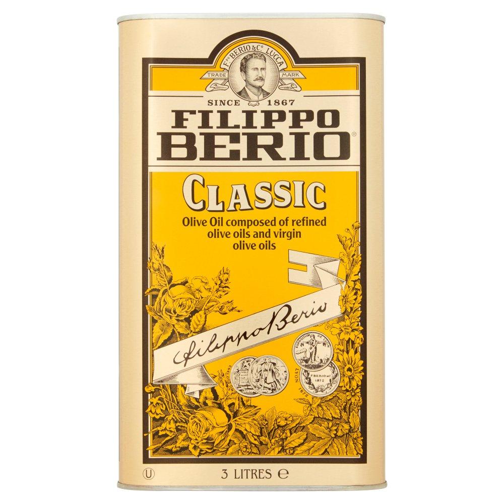 Filippo Berio Classic Olive Oil 3 Litres