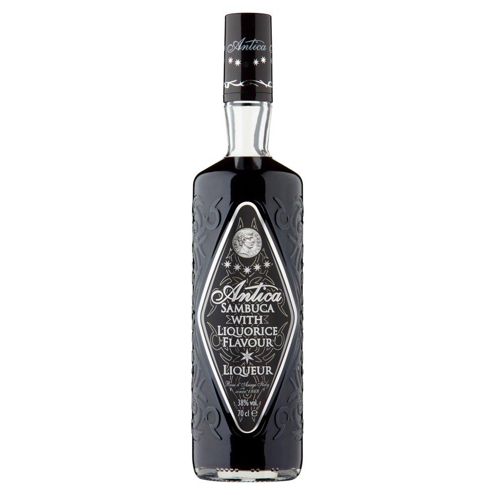 Antica Sambuca with Liquorice Flavour Liqueur 70cl