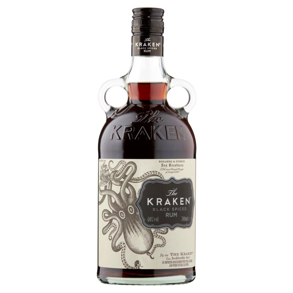 The Kraken Black Spiced Rum 70cl