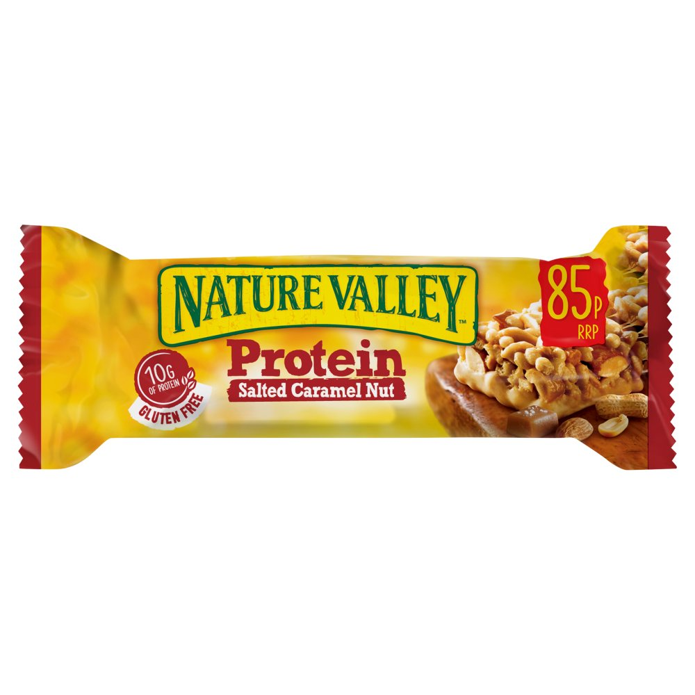 Nature Valley Protein Salted Caramel Nut Cereal Bar 40g