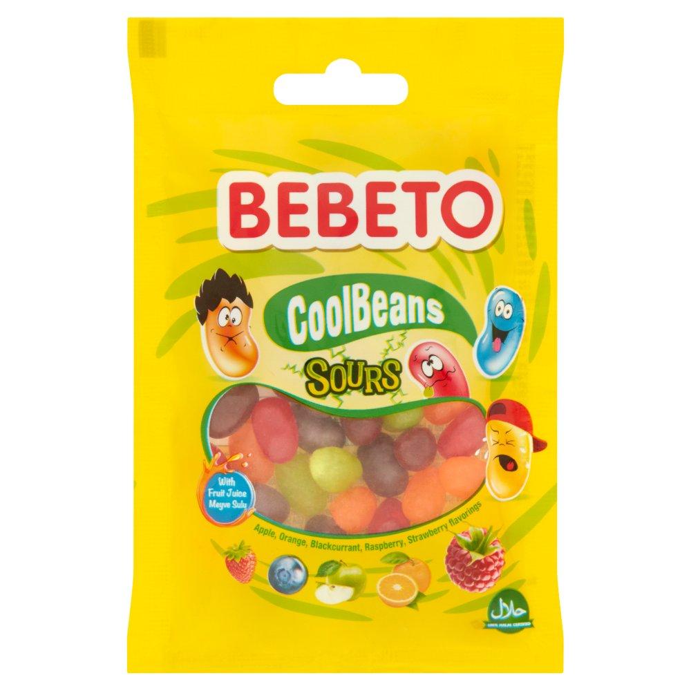 Bebeto CoolBeans Sours 60g