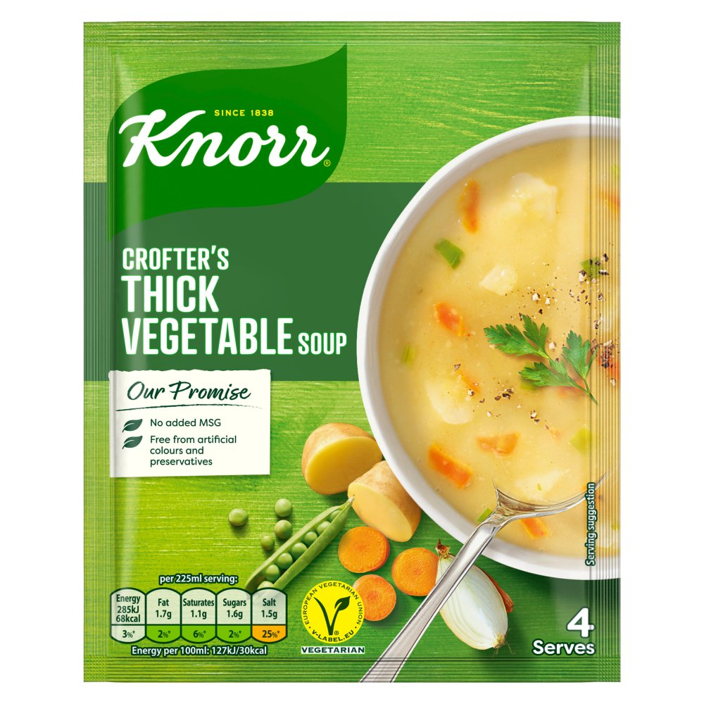 Knorr Crofters Vegetable Soup