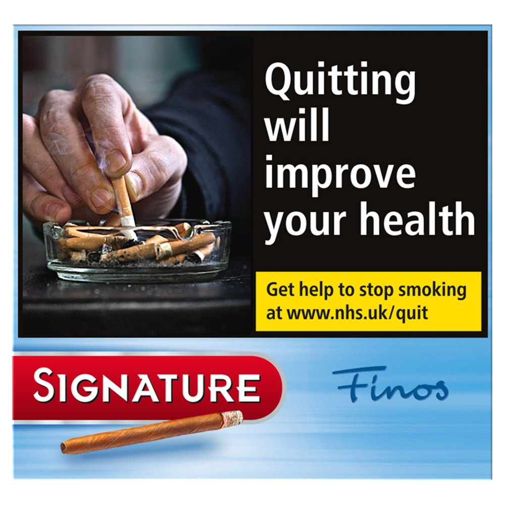 Signature Finos Blue 10 Cigars