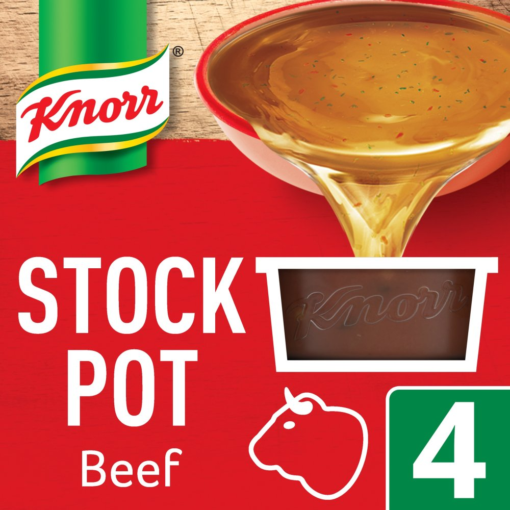 Knorr Stockpot Beef 4s