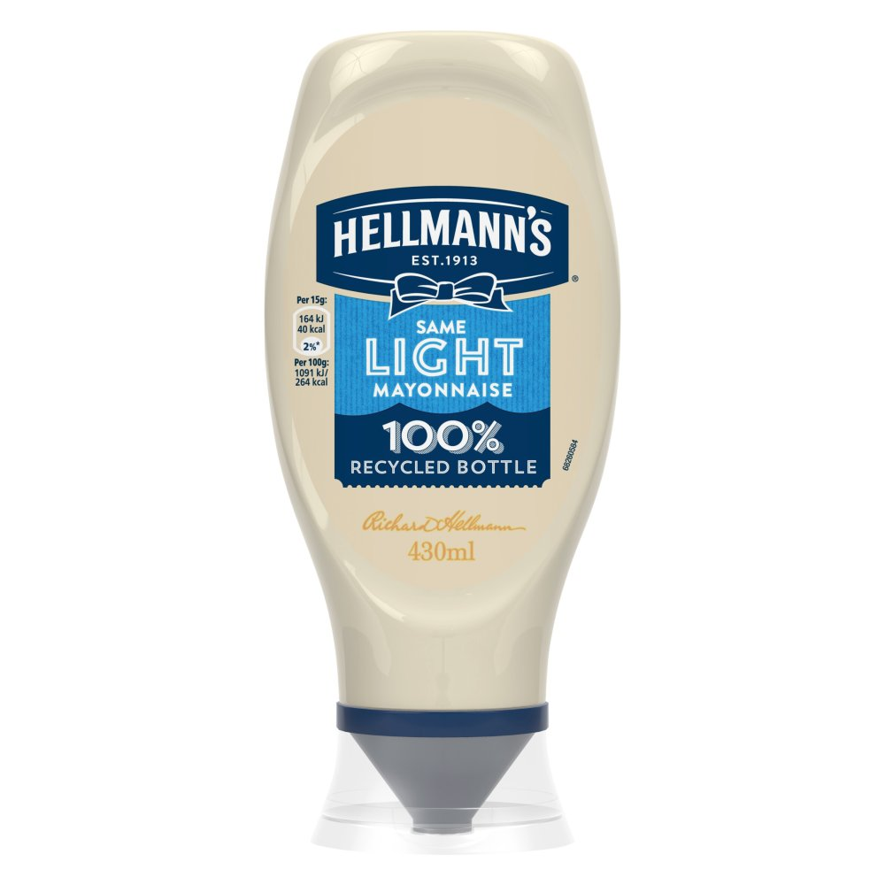 Hellmanns Squeezy Light Mayonnaise