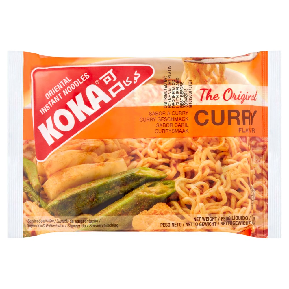 Koka Curry Flv Inst Noodles